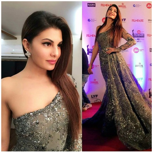 Jacqueline Fernandez at Filmfare Awards 2017 Red Carpet!