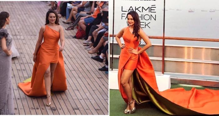 LFW Summer/Resort 2017: Sonakshi Sinha Slays As She Walks The Ramp For Monisha Jaising!