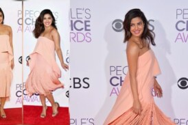 OMG!! Priyanka Chopra's Style Quotient at People's Choice Awards 2017 is Up and We are Loving The No-Makeup Look
