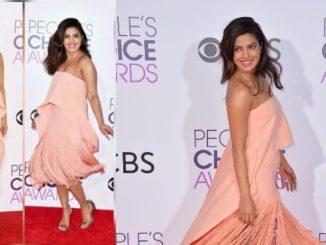 Priyanka Chopra's Style Quotient at People's Choice Awards 2017