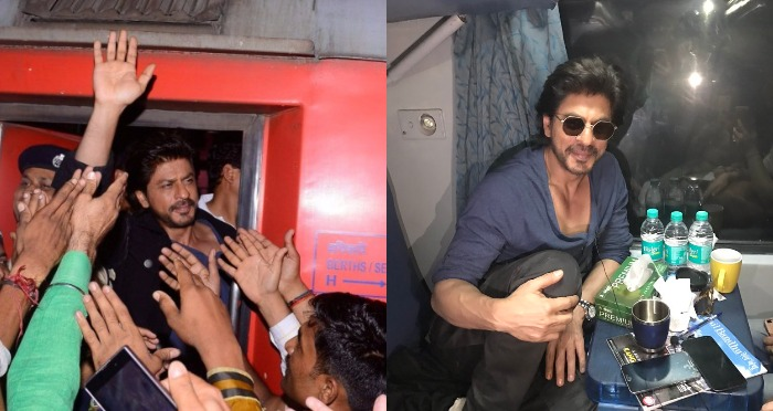 #RaeesOnRail Promotions: Man dies in the stampede at Vadodara Station, SRK Speaks Up!