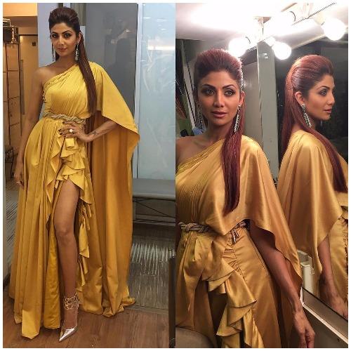 Shilpa Shetty at Filmfare Awards 2017 Red Carpet!