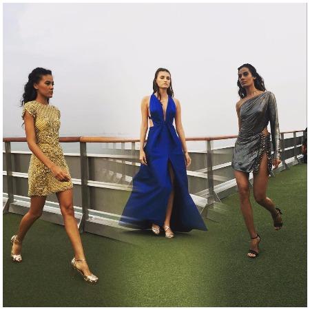 Sonakshi Sinha Walks The Ramp For Monisha Jaising at LFW Summer/Resort 2017