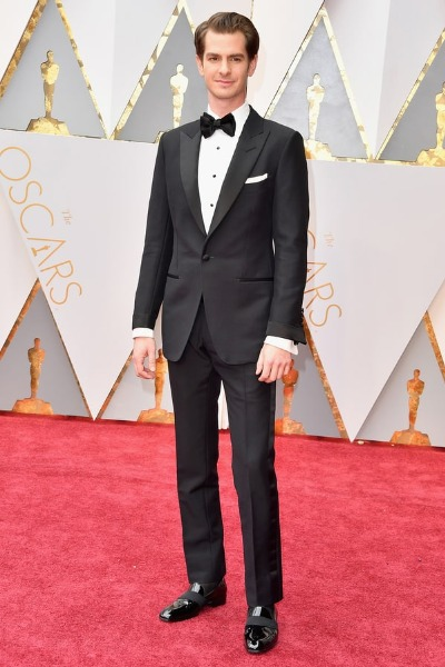 Andrew Garfield best dressed men at Oscars 2017