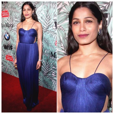 Frieda Pinto At Oscars 2017 Pre-Awards cocktail party