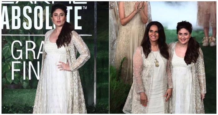 Kareena Kapoor Khan Ruled The Ramp As Showstopper For Anita Dongre at Lakme Fashion Week 2017 Grand Finale