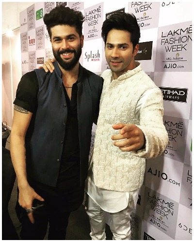 Varun Dhawan for Kunal Rawal with Arjun Kapoor