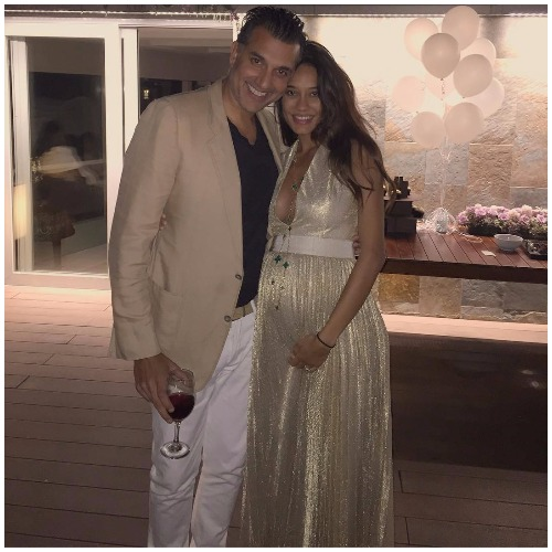Preggy Lisa Haydon With Husband Dino Lalvani