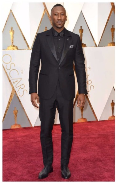 Mahershala Ali best dressed men at Oscars 2017