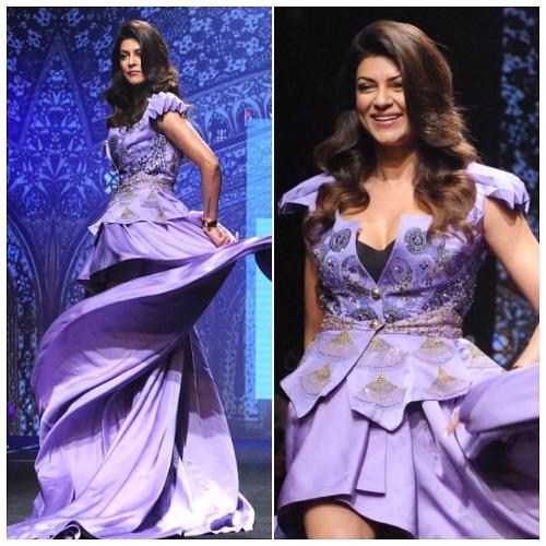 Miss Universe Sushmita Sen at Lakme Fashion Week 2017 #ifw2017