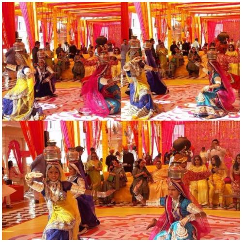Neil Nitin Mukesh and Rukmini Sahay's Royal Sangeet