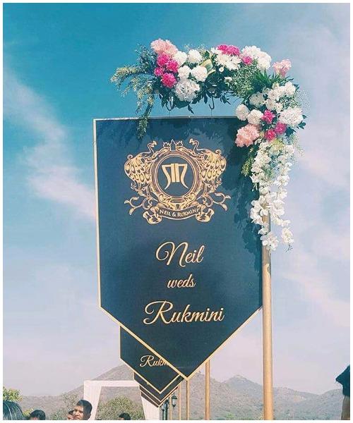 Neil Nitin Rukmini Sahay Grand Engagement udaipur
