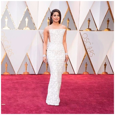 Priyanka Chopra Oscars 2017 in Ralph and Russo