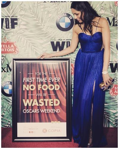 Frieda Pinto At Oscars 2017 Pre-Awards cocktail party