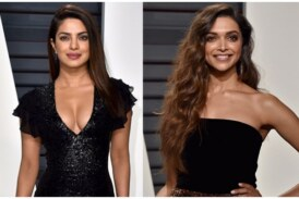 Photos – Deepika Padukone And Priyanka Chopra Notched Up Hotness Quotient at Oscars 2017 After Party!