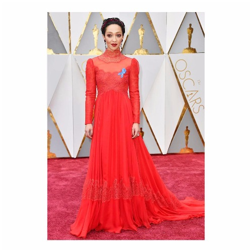 Ruth Negga best dressed actress at Oscars 2017