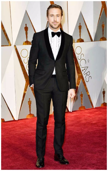 Ryan Gosling best dressed men at Oscars 2017