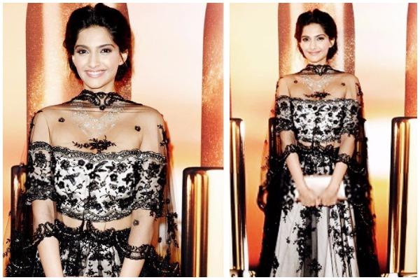 Sonam Kapoor's Sizzling Photo-Shoot For Designer Shehla Khan