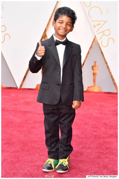 Sunny Pawar best dressed men at Oscars 2017