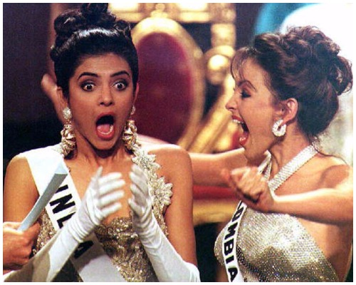 Exhilarated Sushmita Sen When She Meets Four Filipino Girls Named After Her