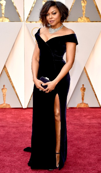 Taraji Henson best dressed actress at Oscars 2017