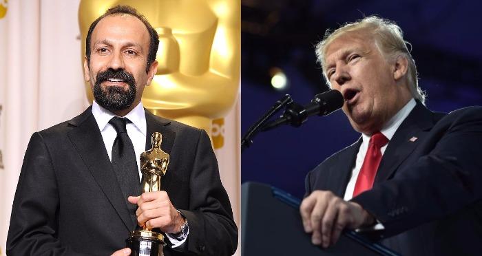 Iran's Asghar Farhadi Wins Oscar and Slams President Trump's #MuslimBan Through His Speech