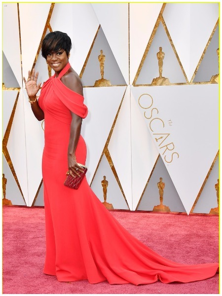 Viola Davis best dressed actress at Oscars 2017