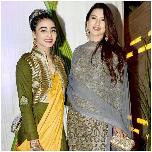 Gauhar Khan Bani J at Bigg Boss Fame Mandana Karimi's Sangeet