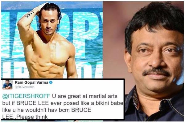 Ram Gopal Varma Makes Nasty Comments on Tiger Shroff, Calls Him 'Bikini Babe' and 'Gay'