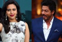 Whaat? Swara Bhaskar Refuses A Role With Shah Rukh Khan For This Reason