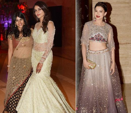 Photos: Mandana Karimi Married Gaurav Gupta; Ekta, Krystle-Karan, Gauhar Khan and Others Attended Wedding Reception
