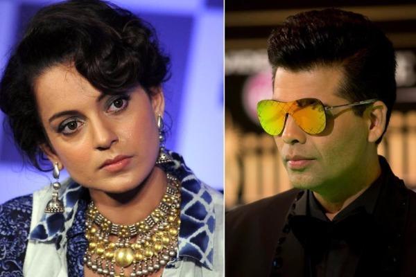 Kangana Ranaut HITS Back At Karan Johar, Says She Was Playing The Badass Card!