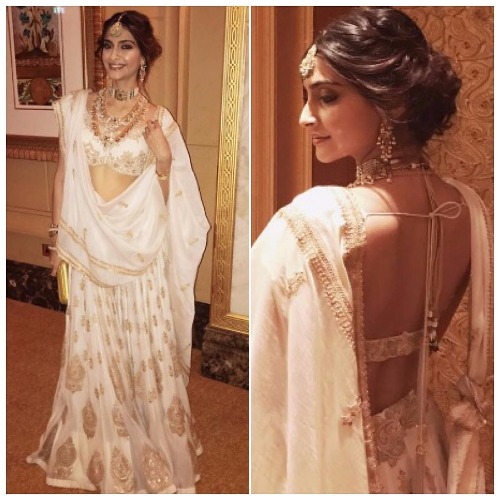 Sonam Kapoor at Akshay Marwah Wedding In Abu Dhabi