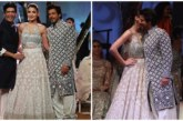 Shah Rukh Khan and Anushka Sharma Walked The Ramp for Manish Malhotra at Mijwan Summer 2017