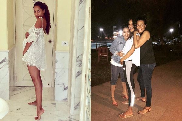 A Beautiful Glowing Pregnant Lisa Haydon Shares This Adorable Picture
