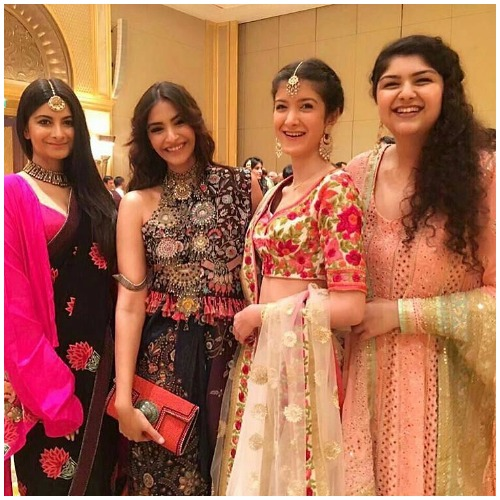 Rhea Kapoor at Akshay Marwah Wedding In Abu Dhabi