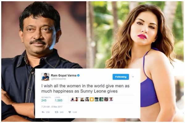 Director Ram Gopal Varma In Legal Trouble After His Nasty Tweets On Sunny Leone!