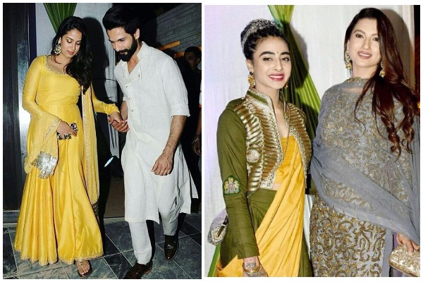 Inside Photos: Shahid Kapoor-Mira, Bani J, Gauhar Khan At Bigg Boss Fame Mandana Karimi's Sangeet!