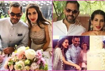 In Pics: Karisma Kapoor's Ex-Husband Sunjay Kapur's Royal Wedding Reception With Priya Sachdev