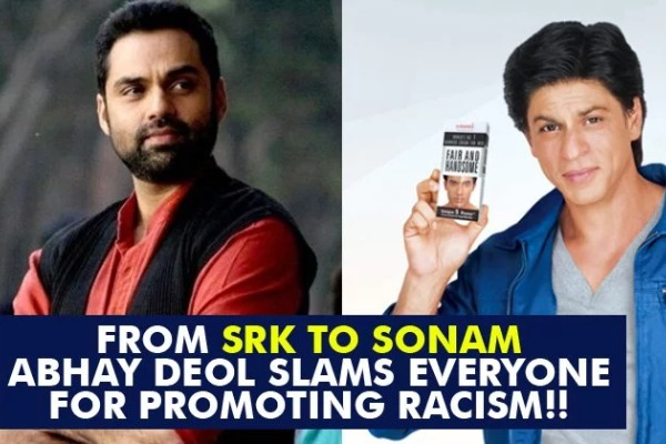 Abhay Deol Slams SRK, Deepika, Shahid For Endorsing Fairness Cream Ads, Sonam Kapoor Tries To Troll!