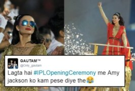 LOL! Amy Jackson Compared With Sunny Deol and Gets Trolled For Her Crappy Performance at IPL Opening Ceremony