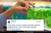 Bollywood Tweets Arun Jaitley, Requested To Curb Taxes On Sanitary Napkins With #LahuKaLagaan