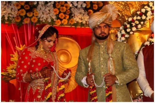 Sakshi Malik Satyawart Kadian wedding