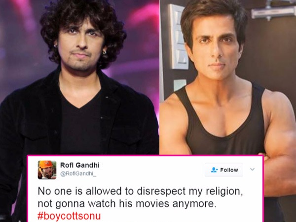 Sonu Sood Gets Trolled Instead Of Sonu Nigam For His Controversial Tweets On Azaan!