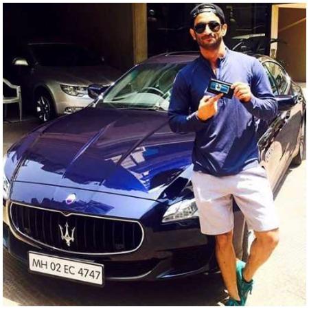 Sushant Singh Rajput new Maserati car