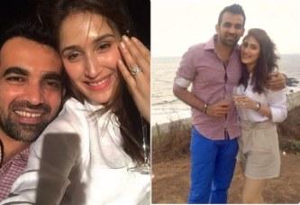 Cricketer Zaheer Khan Gets Engaged To Sagarika Ghatge, Announces News On Twitter