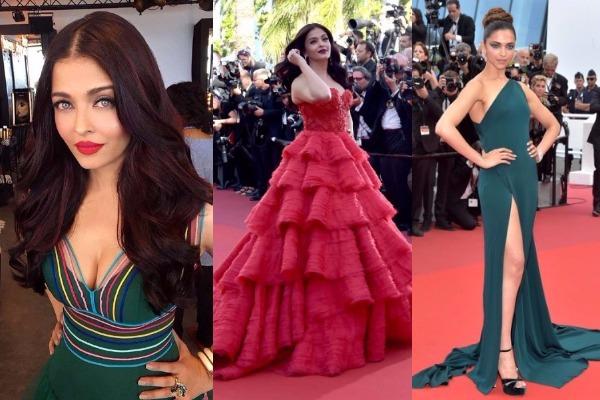 Aishwarya Rai, Deepika Cannes 2017 look