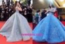 Cannes Film Fest 2017: Aishwarya Rai Bachchan Stun On Red Carpet In A Cinderella Inspired Blue Gown!