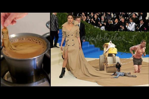 12 Humorous Tweets About Priyanka Chopra's Longest Trench Coat At The Met Gala 2017