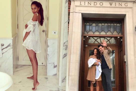 Lisa Haydon & Dino Lalwani Blessed With Baby Boy, Shares First Adorable Picture!